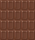 Seamless texture with chocolate bar. Royalty Free Stock Photo