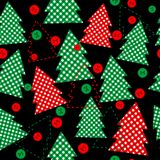 Seamless texture for Christmas gifts packaging Stock Image