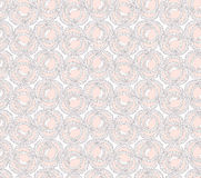 Seamless texture with circle ornament Royalty Free Stock Image