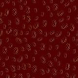 Seamless texture of coffee Stock Photo
