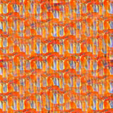 Seamless texture color watercolour red blue orange Royalty Free Stock Photography