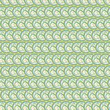 Seamless texture of colorful floral circles. (background Royalty Free Illustration