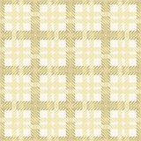 Seamless texture of cotton fabric with plaid Stock Photos