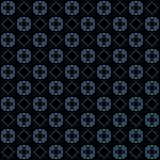 Seamless texture with 3D rendering abstract fractal blue pattern Stock Photos