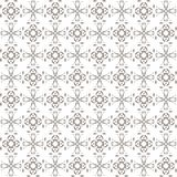 Seamless texture with 3D rendering abstract fractal brown pattern Stock Photos