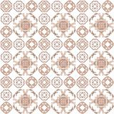 Seamless texture with 3D rendering abstract fractal brown pattern Royalty Free Stock Image