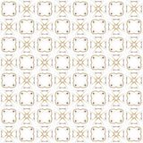 Seamless texture with 3D rendering abstract fractal brown pattern. On a white background for fabric design Stock Images