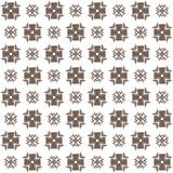 Seamless texture with 3D rendering abstract fractal brown pattern Royalty Free Stock Images