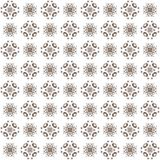 Seamless texture with 3D rendering abstract fractal brown pattern Stock Image