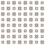Seamless texture with 3D rendering abstract fractal brown pattern Stock Images