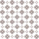 Seamless texture with 3D rendering abstract fractal brown pattern Stock Photography