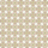 Seamless texture with 3D rendering abstract fractal colorful pattern Stock Images