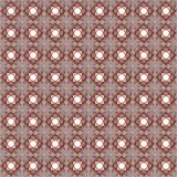 Seamless texture with 3D rendering abstract fractal dark red pattern Royalty Free Stock Image