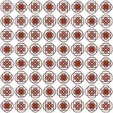 Seamless texture with 3D rendering abstract fractal dark red pattern Stock Photos
