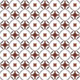 Seamless texture with 3D rendering abstract fractal dark red pattern Royalty Free Stock Photo