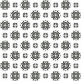 Seamless texture with 3D rendering abstract fractal gray pattern. On a white background for fabric design Stock Images