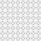 Seamless texture with 3D rendering abstract fractal gray pattern. On a white background for fabric design Royalty Free Stock Image