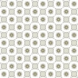 Seamless texture with 3D rendering abstract fractal gray pattern. On a white background for fabric design Stock Image