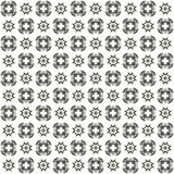 Seamless texture with 3D rendering abstract fractal gray pattern. On a white background for fabric design Royalty Free Stock Photo