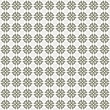 Seamless texture with 3D rendering abstract fractal gray pattern. On a white background for fabric design Royalty Free Stock Photography