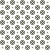 Seamless texture with 3D rendering abstract fractal gray pattern. On a white background for fabric design Royalty Free Stock Images