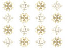 Seamless texture with 3D rendering abstract fractal gray pattern Royalty Free Stock Photos