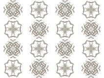 Seamless texture with 3D rendering abstract fractal gray pattern Royalty Free Stock Photo
