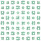 Seamless texture with 3D rendering abstract fractal green pattern. On a white background for fabric design Stock Photography