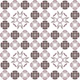 Seamless texture with 3D rendering abstract fractal maroon pattern Stock Photo