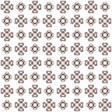Seamless texture with 3D rendering abstract fractal maroon pattern. On a white background for fabric design Royalty Free Stock Photos