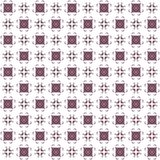 Seamless texture with 3D rendering abstract fractal maroon pattern. On a white background for fabric design Stock Photos