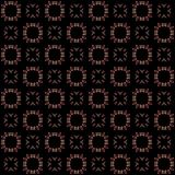 Seamless texture with 3D rendering abstract fractal pink pattern. On a black background for fabric design Stock Images