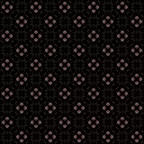 Seamless texture with 3D rendering abstract fractal pink pattern. On a black background for fabric design Stock Photo