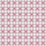 Seamless texture with 3D rendering abstract fractal pink pattern. On a white background for fabric design Royalty Free Stock Photos