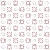 Seamless texture with 3D rendering abstract fractal pink pattern. On a white background for fabric design Royalty Free Stock Image