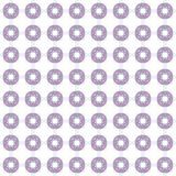Seamless texture with 3D rendering abstract fractal purple blue pattern. On a white background for fabric design Royalty Free Stock Photos