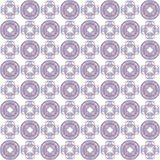 Seamless texture with 3D rendering abstract fractal purple blue pattern. On a white background for fabric design Royalty Free Stock Image