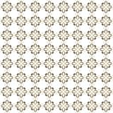 Seamless texture with 3D rendering abstract fractal yellow gray pattern. On a white background for fabric design Stock Photography