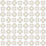 Seamless texture with 3D rendering abstract fractal yellow gray pattern. On a white background for fabric design Royalty Free Stock Images