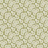 Seamless texture with 3D rendering abstract fractal yellow mosaic pattern Royalty Free Stock Images