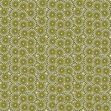 Seamless texture with 3D rendering abstract fractal yellow mosaic pattern Royalty Free Stock Image