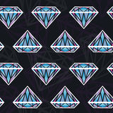 Seamless texture with diamonds Stock Photography