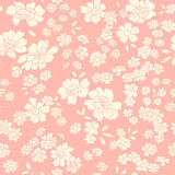 Seamless texture with different flowers Stock Photography