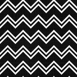 Seamless texture with double zigzag pattern Royalty Free Stock Images