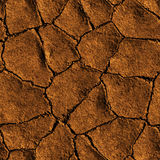 Seamless Texture earth cracked because of drought Stock Photo