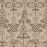 Seamless texture with ethnic ornament Stock Image