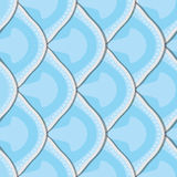 Seamless texture of fish scales Stock Photos