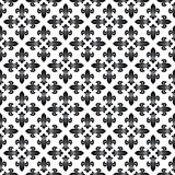 Seamless texture with fleur-de-lis. Vector illustration Stock Photos