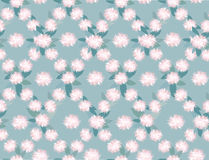 Seamless texture with floral ornament Stock Photography