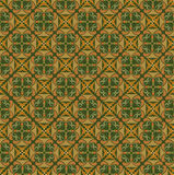 Seamless texture with floral ornament Stock Images
